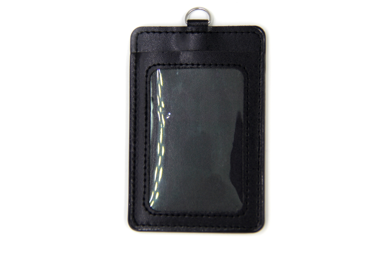 Leather Badge Holder Produced By Colorful Pu Leather