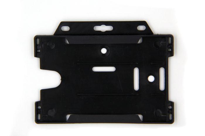 Open face rigid ID holder