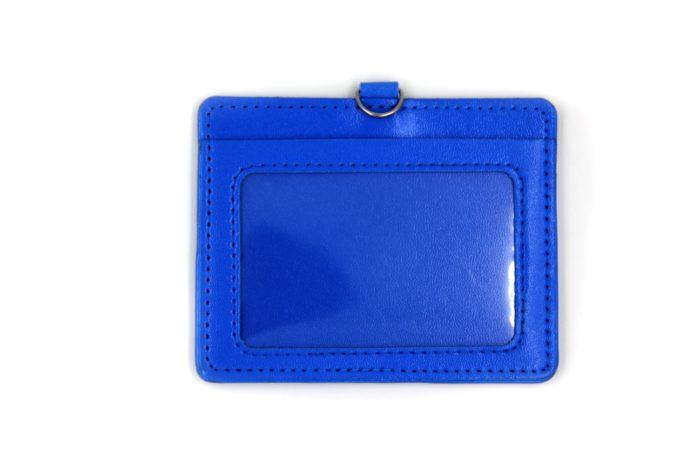 PU badge holder